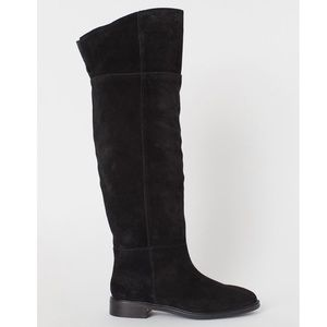 Suede Knee High Boots 5.5